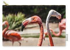 Flamingo Pair Carry-all Pouch