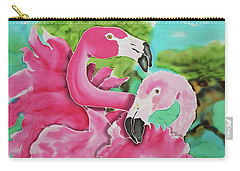 Flamingo Passion Carry-all Pouch