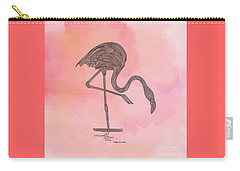 Flamingo4 Carry-all Pouch