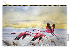 Flamingoes Flight Carry-all Pouch