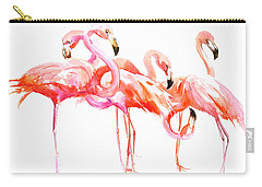 Flamingos Carry-all Pouch by Suren Nersisyan