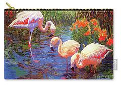 Flamingos, Tangerine Dream Carry-all Pouch