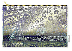 Flammarion Engraving Colored Carry-all Pouch