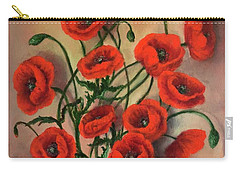 Flander Poppies Carry-all Pouch