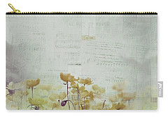 Carry-all Pouch featuring the photograph Flanelle 22 by Variance Collections
