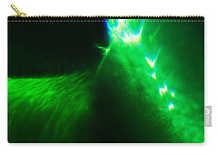 Carry-all Pouch featuring the photograph Flare by Greg Collins