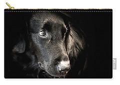 Flat Coated Retriever Carry-all Pouch