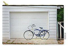 Carry-all Pouch featuring the photograph Flat Tire Bicycle by Craig J Satterlee