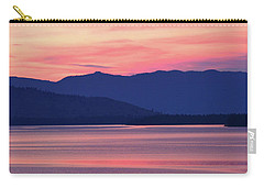 Flathead Lake At Sunrise Carry-all Pouch
