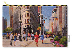 Flatiron Plaza, Summer Morning Carry-all Pouch