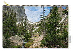 Flattop Mountain In Rocky Mountain National Park Carry-all Pouch