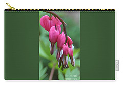 Carry-all Pouch featuring the photograph Flawless Cluster Of Hearts by Barbara S Nickerson