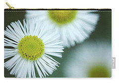 Fleabane Flowers Carry-all Pouch