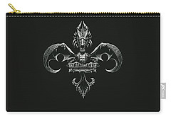 Fleur D Lis Carry-all Pouch