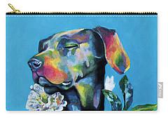 Fleur's Moment Carry-all Pouch by Arleana Holtzmann