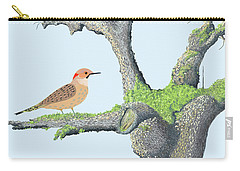 Flicker In The Apple Tree Carry-all Pouch