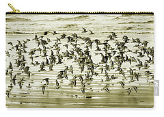Carry-all Pouch featuring the photograph Flight by Mary Jo Allen