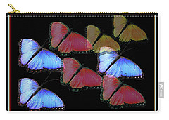 Flight Of The Butterflies Carry-all Pouch