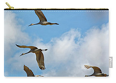 Flight Of The Cranes Carry-all Pouch