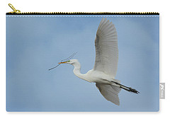 Carry-all Pouch featuring the photograph Flight Path by Fraida Gutovich