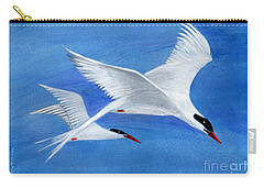 Flight - Painting Carry-all Pouch by Veronica Rickard