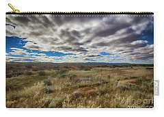 Flinders Ranges Fields  Carry-all Pouch by Douglas Barnard