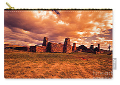 Flinders Ranges Ruins Carry-all Pouch by Douglas Barnard
