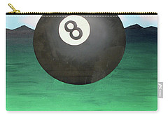 Carry-all Pouch featuring the painting Floating 8 by Thomas Blood