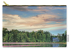 Floating Cranberries In Front Of Suningive Whitesbog Nj Carry-all Pouch