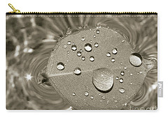 Floating Droplets Carry-all Pouch