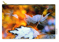 Carry-all Pouch featuring the photograph Floating by Elfriede Fulda