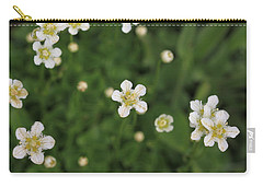Carry-all Pouch featuring the photograph Floating In Green by Shari Jardina