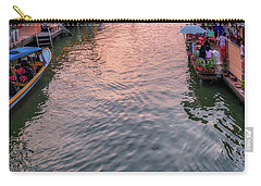 Floating Market Sunset Carry-all Pouch