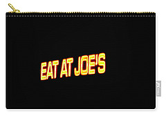 Floating Neon - Eat At Joes Carry-all Pouch