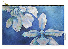 Floating Orchid Carry-all Pouch by Shadia Derbyshire
