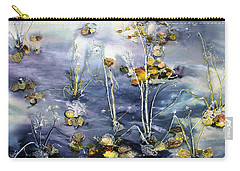 Floating Pond Leaves Carry-all Pouch