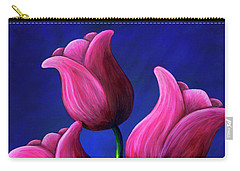 Floating Tulips Carry-all Pouch