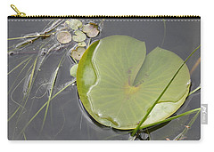 Carry-all Pouch featuring the photograph Flooded Pad by Betty-Anne McDonald