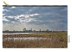 Carry-all Pouch featuring the photograph Floodplains Near Culemborg by Frans Blok