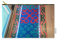 Floor Cloth Arabesque Carry-all Pouch by Judith Espinoza