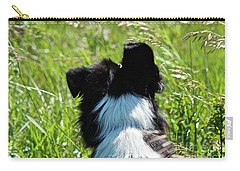 Carry-all Pouch featuring the photograph Floppy Ear by Ann E Robson