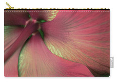 Carry-all Pouch featuring the photograph Flor Feliz by The Art Of Marilyn Ridoutt-Greene