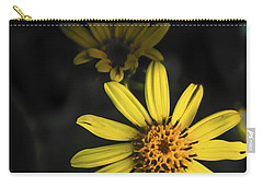 Flora In Yellow Carry-all Pouch