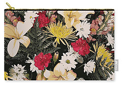 Floral 2 Carry-all Pouch