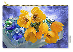 Floral 6 Carry-all Pouch
