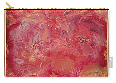 Floral Abstract 2 Carry-all Pouch
