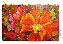 Floral Abundance Carry-all Pouch