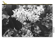 Floral Accent  Carry-all Pouch by Rachel Hannah