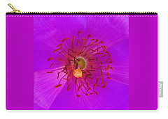Carry-all Pouch featuring the mixed media Floral Aroma by Mary Ellen Frazee