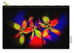 Floral Aurora Borealis   Carry-all Pouch